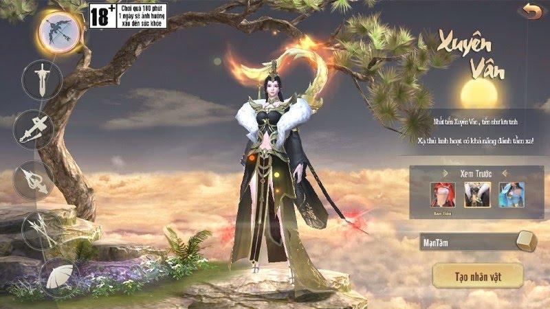 Gameplay Tân Giang Hồ Truyền Kỳ