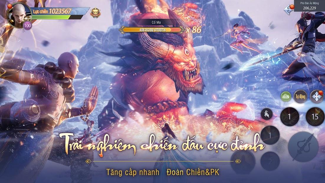 Screenshots Tải Tân Giang Hồ Truyền Kỳ - Game nhập vai 3D